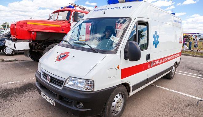 Ασθενοφόρο στη Ρωσία
