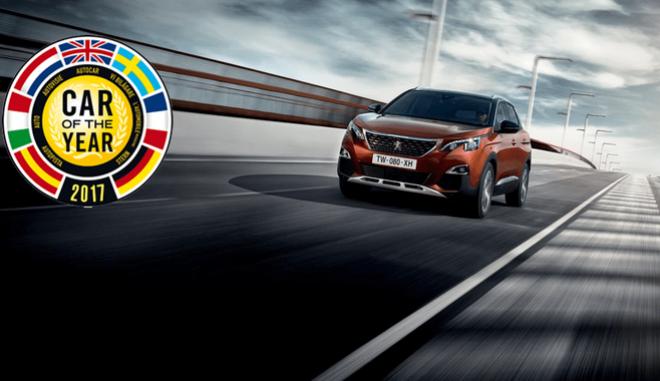 Σαλόνι Γενεύης: 'Αυτοκίνητο της χρονιάς 2017' το νέο Peugeot 3008