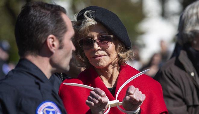 Jane Fonda στη Washington 18 Οκτώβρη