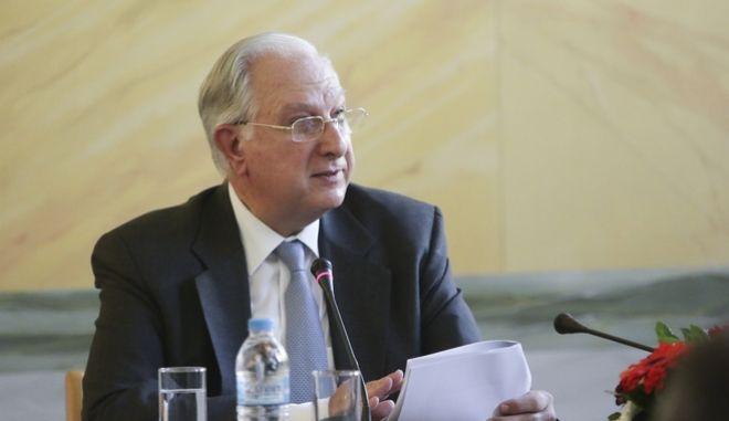 Ο παραιτηθείς πρόεδρος του ΣτΕ Νίκος Σακελλαρίου