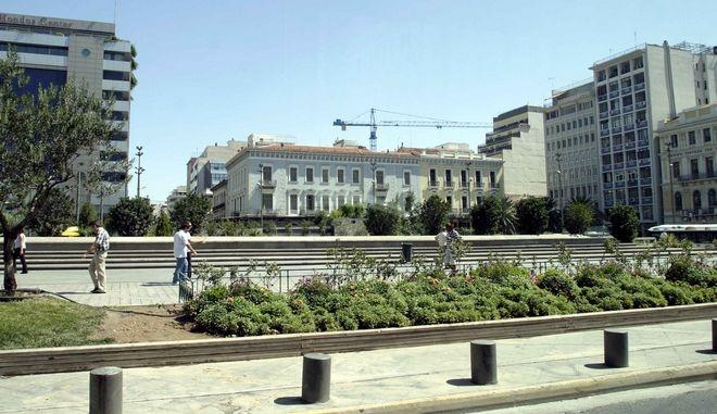 Φωτογραφία από την πλατεία Ομονοίας