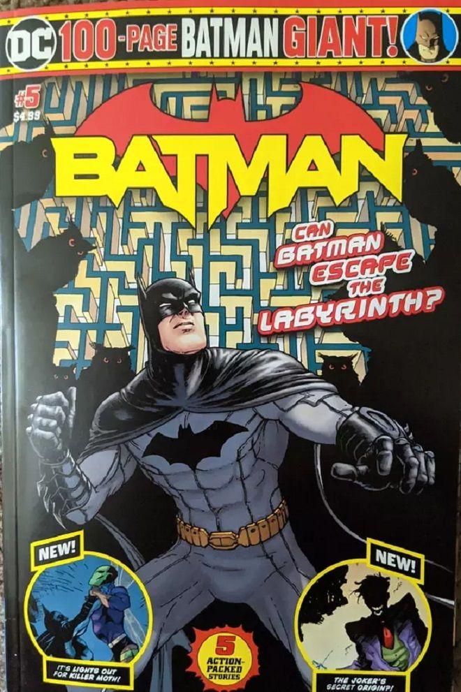 Το εξώφυλλο του Batman Giant #5