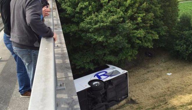 Βέλγιο: Δυστύχημα με έναν νεκρό σε λεωφορείο στο οποίο επέβαιναν παιδιά
