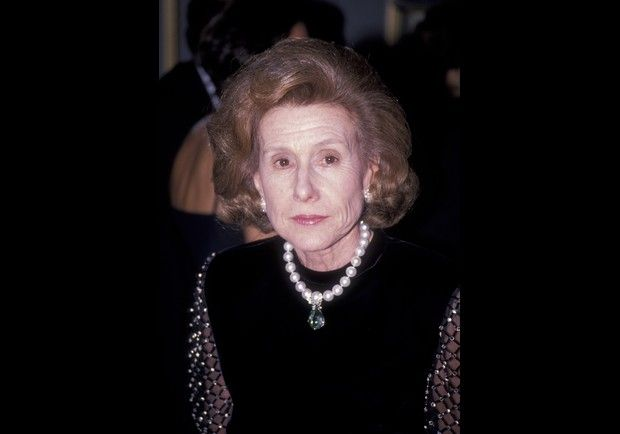NEW YORK - NOVEMBER 15:  Anne Cox Chambers attends Top Dog Humanitarian Awards Gala on November 15, 1989 at the Pierre Hotel in New York City. (Photo by Ron Galella, Ltd./WireImage)  *** Local Caption ***