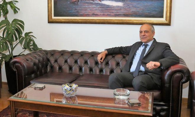 O Σύμβουλος Εθνικής Ασφαλείας του Πρωθυπουργού, Αλέξανδρος Διακόπουλος