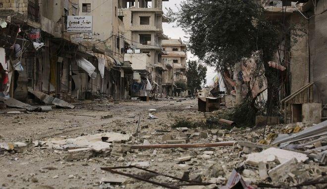 Βομβαρδισμός στη Συρία (φωτογραφία αρχείου)