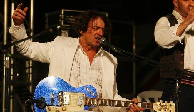 Στιγμιότυπο από την συναυλία του Γκόραν Μπρέγκοβιτς εχθές το βράδυ ,στα πλαίσια του φεστιβάλ τηςε Νεολαίας του ΣΥΡΙΖΑ,Σάββατο 6 Οκτωβρίου  2012 (EUROKINISSI/ΤΑΤΙΑΝΑ ΜΠΟΛΑΡΗ)