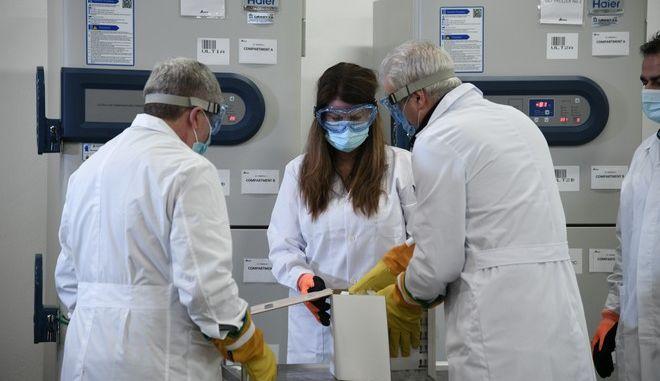 Άφιξη στην Ατιική των πρώτων εμβολιών  των Pfizer/BionTech
