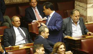 Συζήτηση στην Ολομέλεια της Βουλής, για τις προγραμματικές δηλώσεις της κυβέρνησης την Τετάρτη 7 Οκτωβρίου 2015. (EUROKINISSI/ ΚΟΝΤΑΡΙΝΗΣ ΓΙΩΡΓΟΣ)