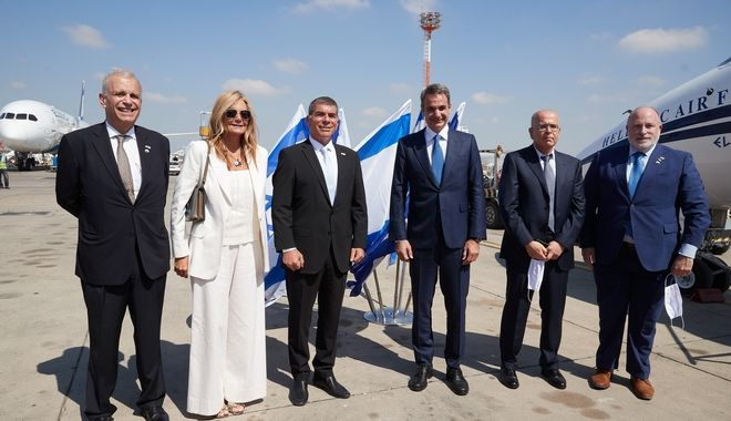Επίσκεψη του Πρωθυπουργού Κυριάκου Μητσοτάκη στο Ισραήλ, την Τρίτη 16 Ιουνίου 2020. (EUROKINISSI/ΓΡΑΦΕΙΟ ΤΥΠΟΥ ΠΡΩΘΥΠΟΥΡΓΟΥ/ΔΗΜΗΤΡΗΣ ΠΑΠΑΜΗΤΣΟΣ)