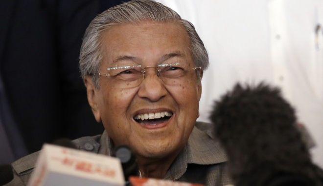Ο νέος πρωθυπουργός της Μαλασίας, Μαχατίρ Μοχαμάντ, είναι 92 ετών