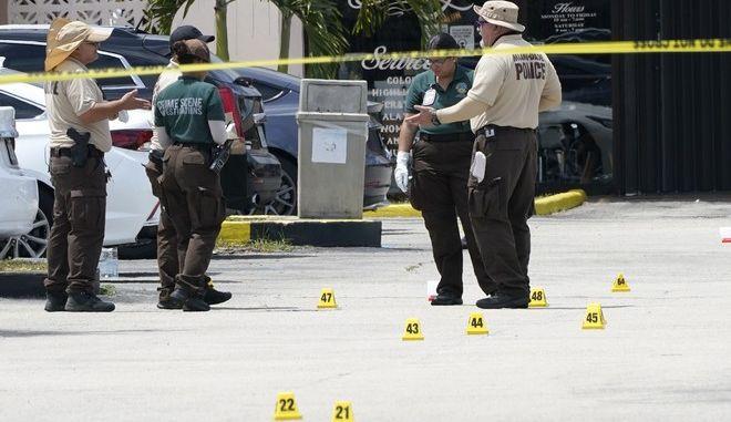 Πυροβολισμοί στη Φλόριντα (φωτογραφία αρχείου)