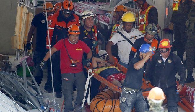 Νέος, πιο ισχυρός σεισμός στις Φιλιππίνες 6,5 Ρίχτερ