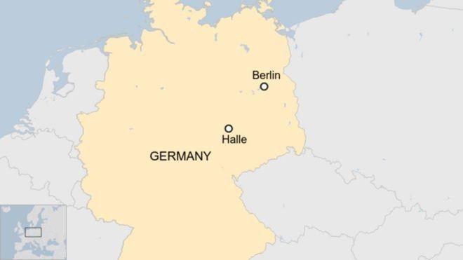 Η πόλη Χάλε της ανατολικής Γερμανίας