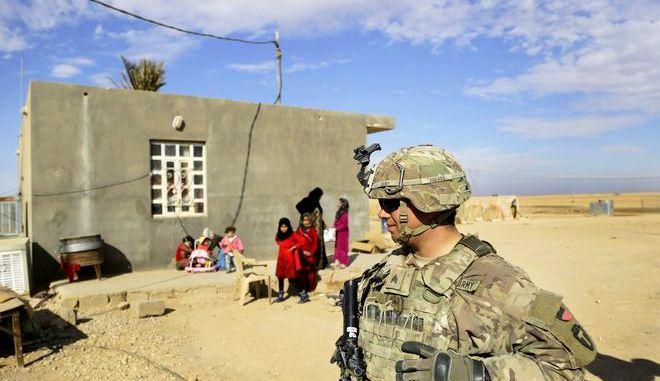 Aμερικανός στρατιώτης στο Ιράκ