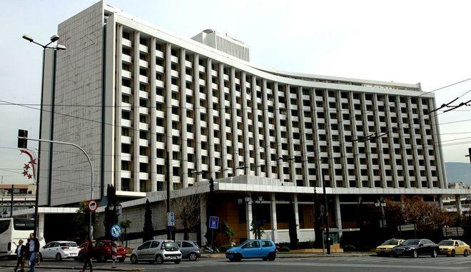 """Στιγμιότυπο από το ξενοδοχείο """"Hilton"""" την Τετάρτη 17 Φεβρουαρίου 2016, στην Αθήνα. (EUROKINISSI/ΓΙΑΝΝΗΣ ΠΑΝΑΓΟΠΟΥΛΟΣ)"""