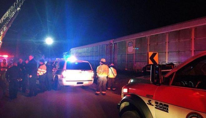 ΗΠΑ: Τουλάχιστον δύο νεκροί και 50 τραυματίες από σύγκρουση τρένων