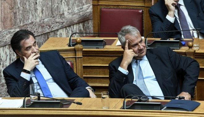 Δεύτερη ημέρα συζήτησης για την ψήφιση επί της αρχής, των άρθρων και του συνόλου του σχεδίου νόμου του Υπουργείου Εσωτερικών «Ρυθμίσεις του Υπουργείου Εσωτερικών, διατάξεις για την ψηφιακή διακυβέρνηση και άλλα επείγοντα ζητήματα». Πέμπτη 8/8/2019.  (Eurokinissi/ΚΑΡΑΓΙΑΝΝΗΣ ΜΙΧΑΛΗΣ)