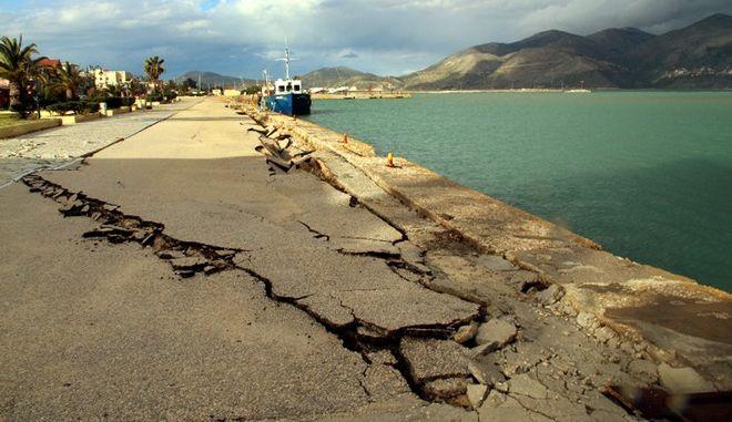 Φωτό αρχείου από σεισμό στην Κεφαλονιά