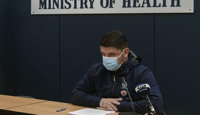 Ενημέρωση των συντακτών του Υπουργείου Υγείας για τα κρούσματα κορονοϊου στην χώρα μας