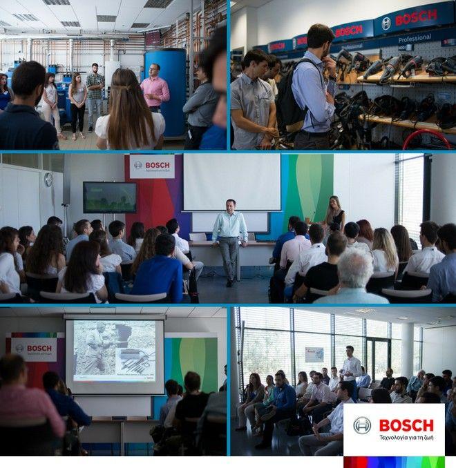 Η Bosch Eλλάδας κοντά στη νέα γενιά