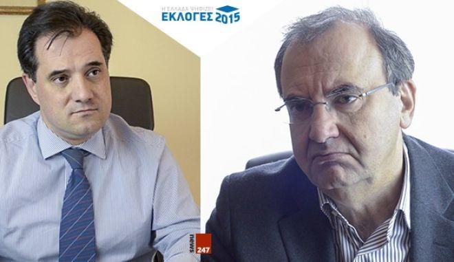 DEBATE στο NEWS247: Γεωργιάδης VS Στρατούλης