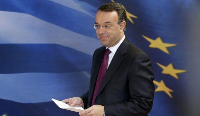 Ο υπουργός Οικονομικών Σταϊκούρας