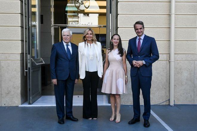 Εγκαίνια του νέου μουσείου Σύγχρονης Τέχνης του Ιδρύματος Βασίλη και Ελίζας Γουλανδρή