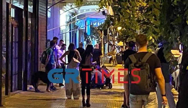 Πυροβολισμοί στο κέντρο της Θεσσαλονίκης