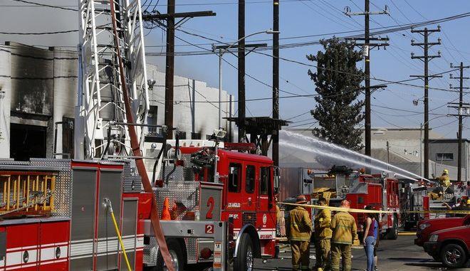 Κεντάκι: Φωτιά κατέστρεψε αποθήκη με 45.000 τόνους μπέρμπον