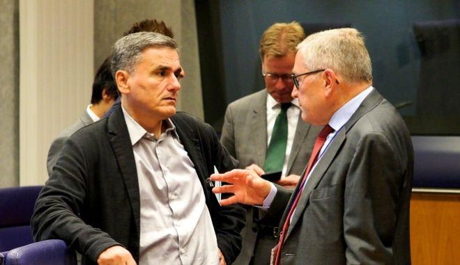Συνεδρίαση του Eurogroup την Δευτέρα 9 Οκτωβρίου 2017, στις Βρυξέλλες. (EUROKINISSI/ΕΥΡΩΠΑΪΚΗ ΕΝΩΣΗ)