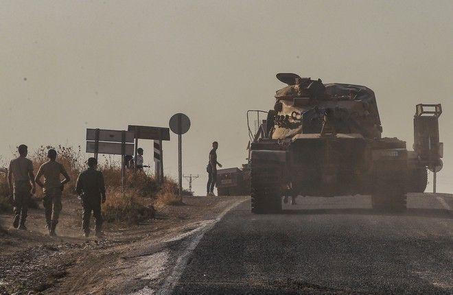 Τουρκικές δυνάμεις στη Συρία