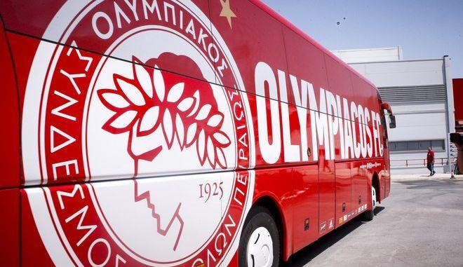 Το πούλμαν του Ολυμπιακού