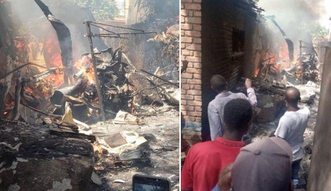 Ζιμπάμπουε: Συντριβή ελικοπτέρου της Πολεμικής Αεροπορίας πάνω σε σπίτι - 4 νεκροί
