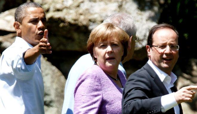 Άξονας Ευρωπαίων με Ομπάμα εναντίον της Ρωσίας