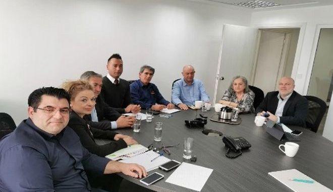 """Συνάντηση της επιτροπής """"Ελλάδα 2021"""" με φορείς δωρεάς οργάνων, αίματος και μυελού των οστών"""