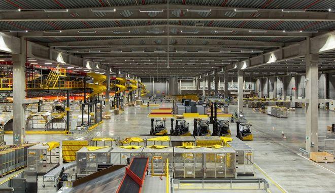 H DHL Express δημιούργησε το πλέον σύγχρονο hub στις Βρυξέλλες