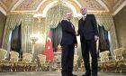 Ο Πρόεδρος της Τουρκίας Τ.Ερντογάν και ο Πρόεδρος της Ρωσίας Β.Πούτιν