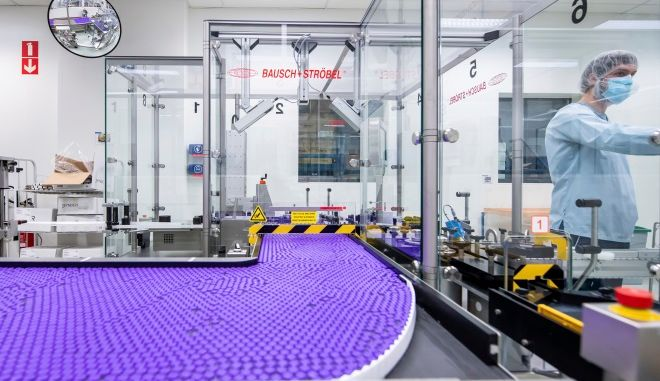 Εργαστήριο της Pfizer-BioNTech