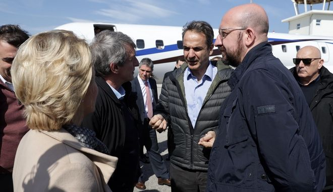 Επίσκεψη της ηγεσίας της Ευρωπαϊκής Ένωσης στον Έβρο