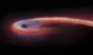 Η αχόρταγη μαύρη τρύπα