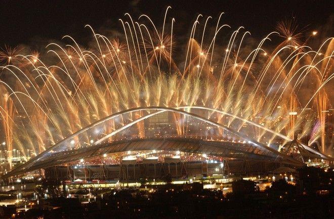 Ολυμπιακοί αγώνες 2004: Στιγμιότυπο από την τελετή λήξης