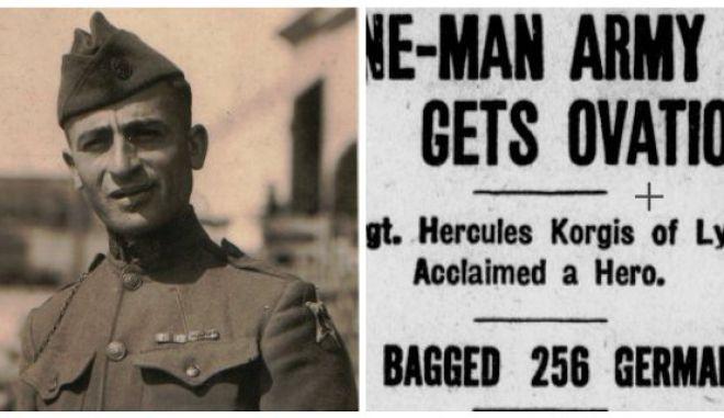 Μηχανή του Χρόνου: Ο Έλληνας μετανάστης που πολέμησε με τους Αμερικάνους και συνέλαβε μόνος του 256 Γερμανούς