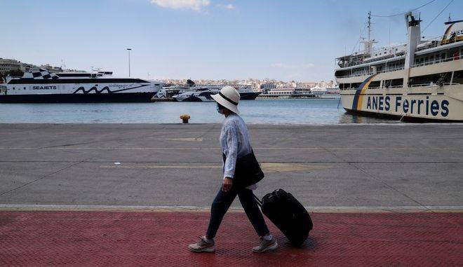 Στιγμιότυπα απο το Λιμάνι του Πειραιά