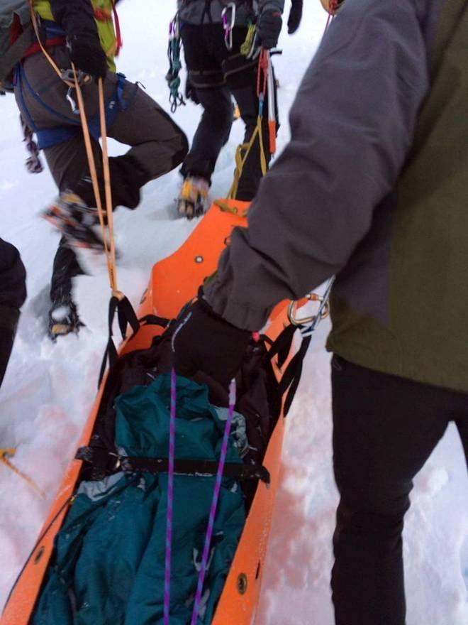 Βίντεο και φωτογραφίες: Η ηρωική επιχείρηση διάσωσης της 35χρονης στον Όλυμπο