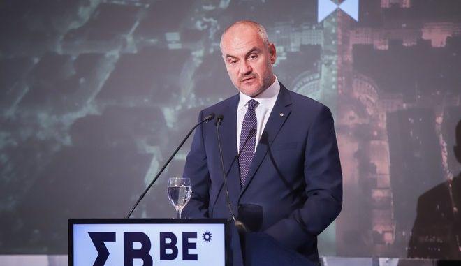 Ο πρόεδρος του ΣΒΒΕ, Θανάσης Σαββάκης