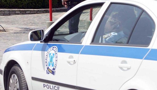 Περιπολικό αστυνομίας στη Θεσσαλονίκη (φωτογραφία αρχείου)