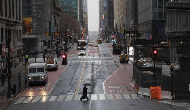 Άποψη της Νέας Υόρκης εν μέσω κορονοϊού