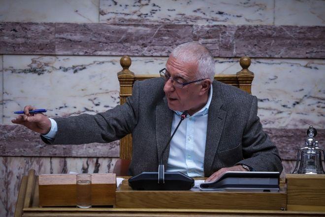 Ο αντιπρόεδρος της Βουλής, Νικήτας Κακλαμάνης