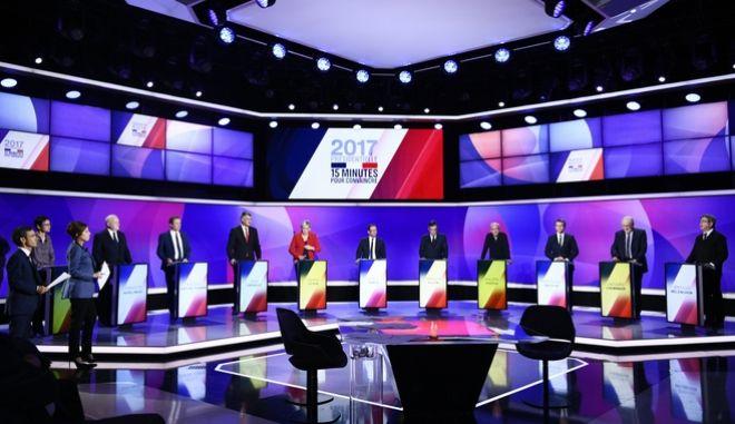 Γαλλικές εκλογές: Διατηρεί το προβάδισμα ο Μακρόν με 24%, δεύτερη η Λε Πεν